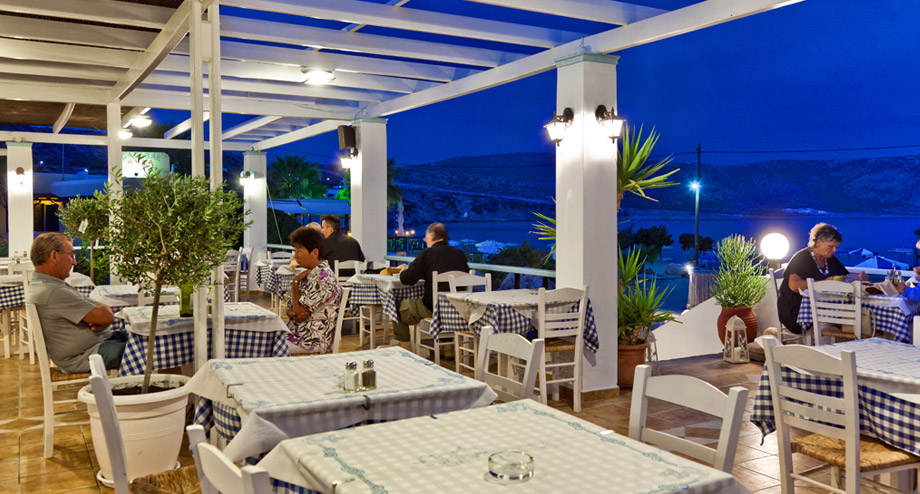 Enjoy warm Greek hospitality along with your Greek dining experience